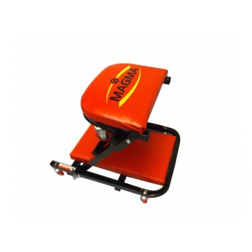 Platforma automehāniķiem/taburete 2-in-1
