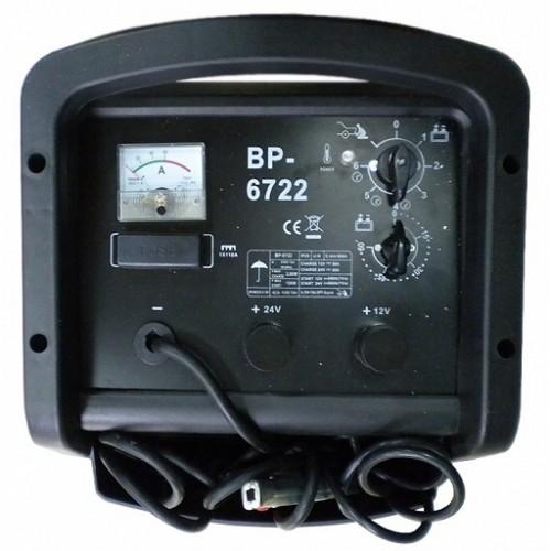 Akumulatoru lādētājs un pastiprinātājs BP-6722