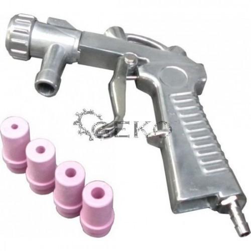 Smilšu strūklas pistole + 4 dīzes