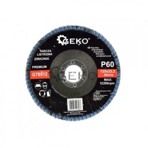 Disks P60 125x22.2 CYRKON