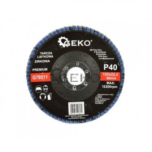 Disks P40 125x22.2 CYRKON