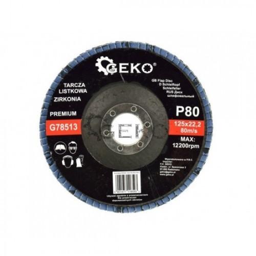 Disks P80 125x22.2 CYRKON