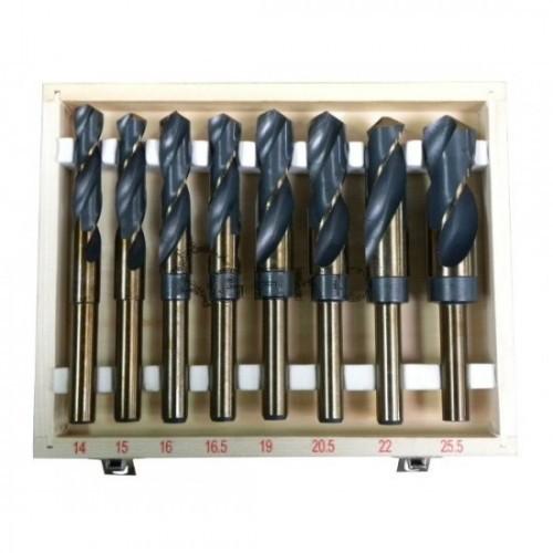 Urbju komplekts 14-25.5mm HSS (8 gab.)