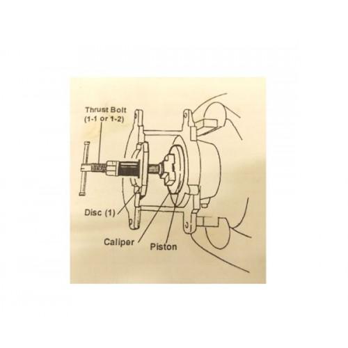 Bremžu suporta virzuļa atspiedējs (35.gab)