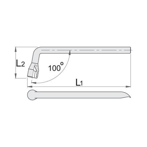 Balonatslēga 17mm