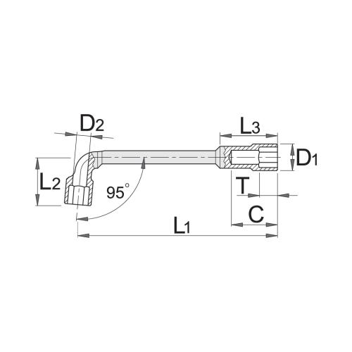 Atslēga 12mm