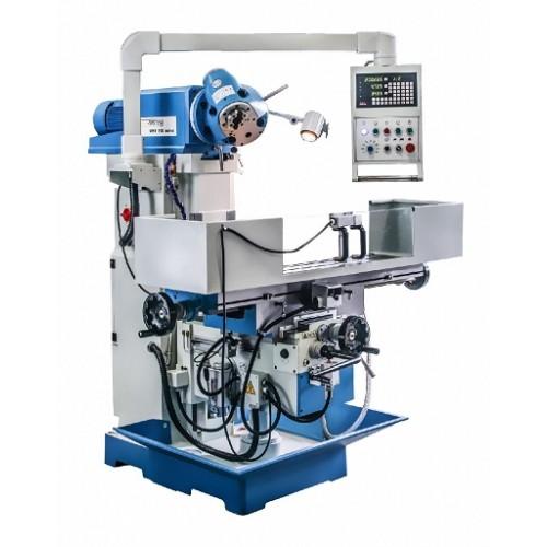 Metāla frēzēšanas mašīna UWF 110 SERVO 1270x300, universālā universālā universālās konsoles urbšanas-frēzēšanas mašīna
