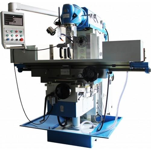 Metāla frēzēšanas mašīna UWF 150 SERVO 1600x360, universāla universāla universāla urbšanas frēzēšanas mašīna