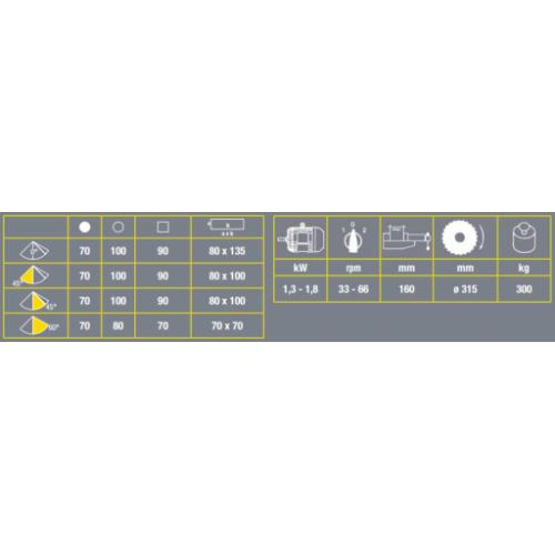 MKS 315VH VIBER-SYSTEM pusautomātiskais ripzāģis metālam