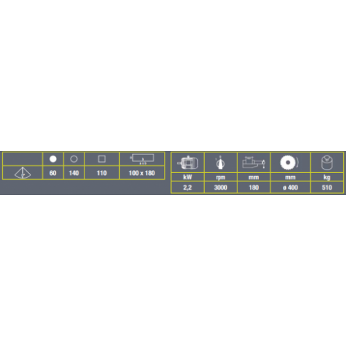 Automātiskais ripzāģis alumīnijam LMS 400A VIBER-SYSTEM