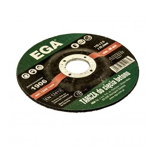 Disks betonam 115x2.5x22