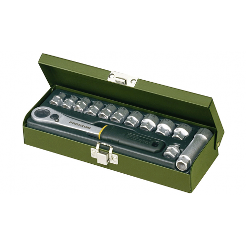 Sprūdatslēgu komplekts Proxxon, 1/4'', 13 gab.