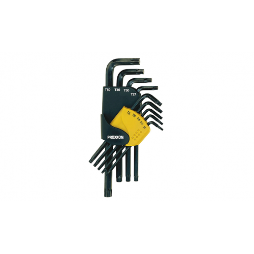 Seškanšu atslēgu komplekts Proxxon Allen, TX8-50, 9 gab.