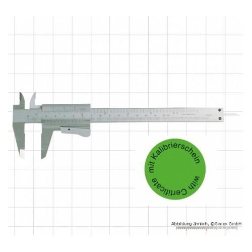 Bīdmērs 150mm kalibrēts, ar sertifikātu