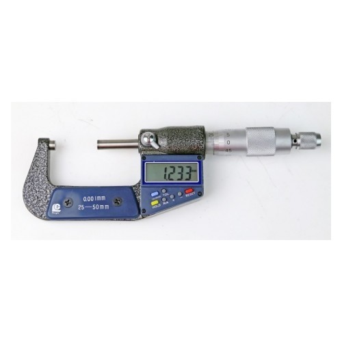 Digitālais ārējais mikrometrs 25-50 mm