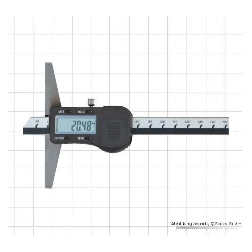 Digitālais dziļummērs 150mmx0.01