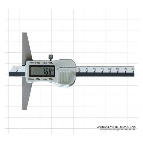 Digitālais dziļummērs 150 x 100 mm