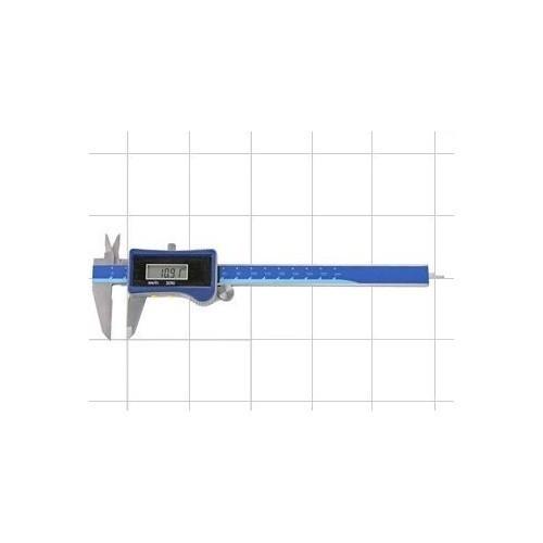 Bīdmērs digitālais ar saules bateriju 150mm, 0.01