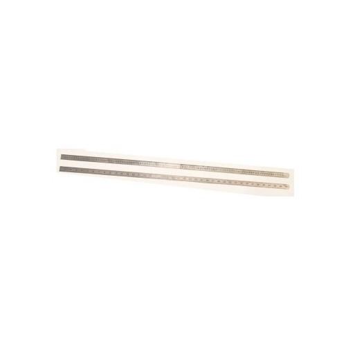 Lineāls 1000x24x0.5mm
