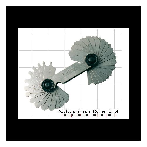 Radiusa mērītājs 1.0-7.0mm
