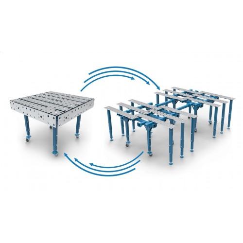Metināšanas darba galds 1600 x 1500 mm