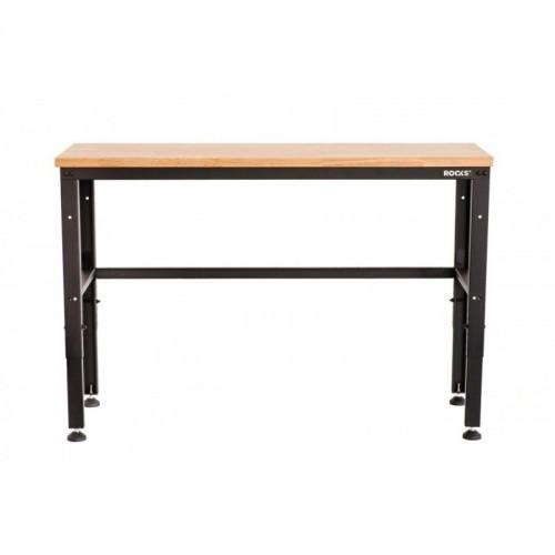 Darba galds ar koka virsmu 133,5x46,5x97 cm