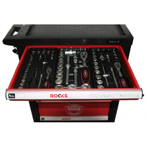 Instrumentu skapis ROOKS GARAGE ar instrumentiem 170 gab.