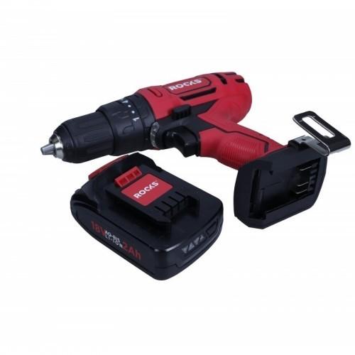 Akumulatora triecienurbjmašīna 18 V AQ-BIS, 38 Nm, komplekts ar lādētāju un 1 akumulatoru