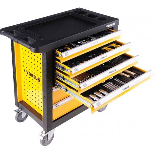 Instrumentu skapis Vorel ar instrumentiem 177 gab., 6 atvilktnes