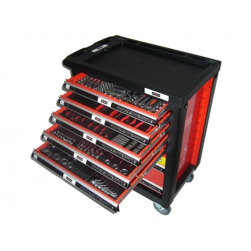 Instrumentu skapis Maxgear ar 247 instrumentiem un 7 atvilktnēm