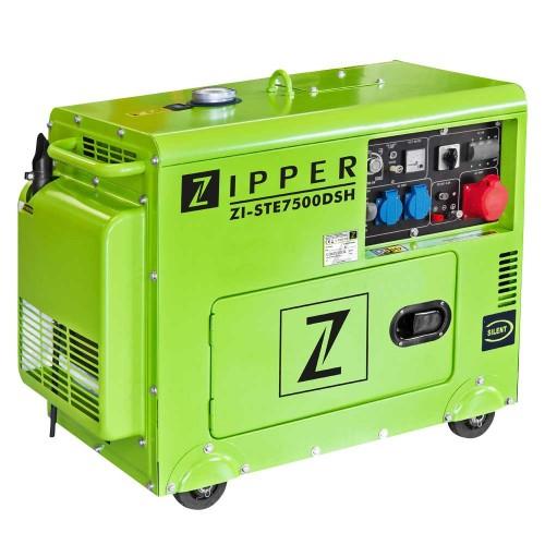 Dizeļa ģenerators Zipper ZI-STE7500DSH