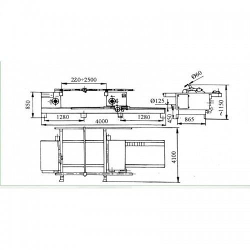 Dubultais formātzāģis REMA DMGB-35