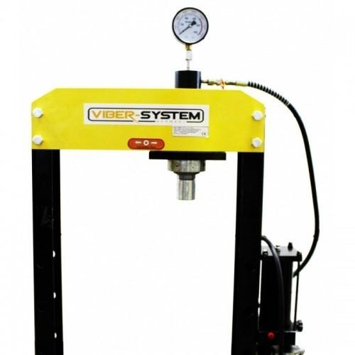Hidrauliskā prese Viber-System 20t, pneimatika, kustīgais virzulis