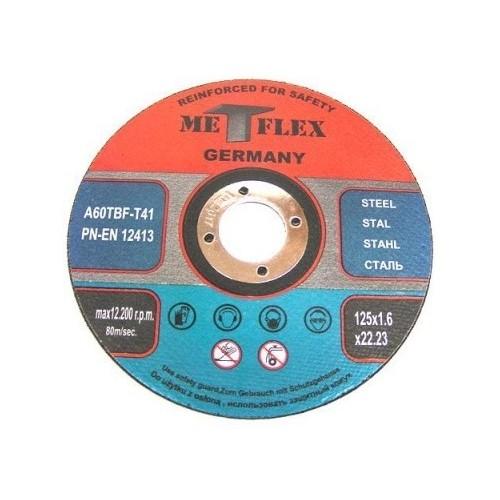 Griezējdisks MET-FLEX 125x1.6x22