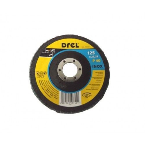 Disks P40 125x22 Inox