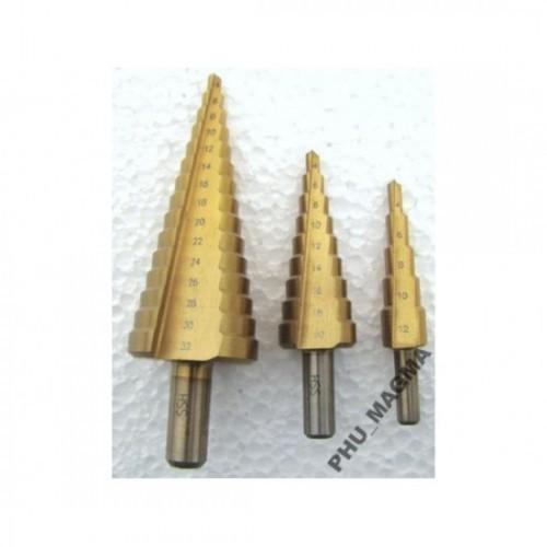 Pakāpjurbju komplets 4-32mm (3.gab)