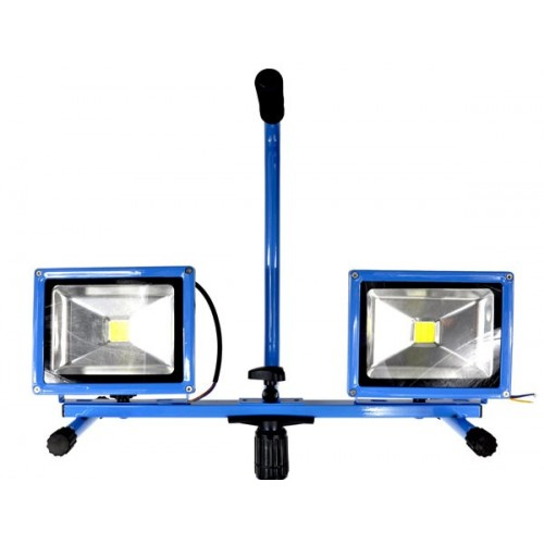 30w halogēnu lampa ar regulējamu tripod, led halogen lamp līdz stāvā, ārējā halogen lamp, led light