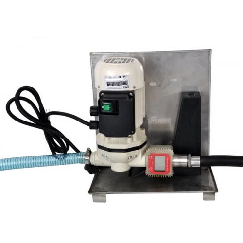 Ķīmiskais un AdBlue pumpis ar LCD mērītāju