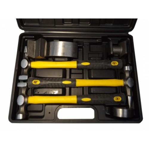 Auto baulēšanas instrumentu komplekts (7 gab.)