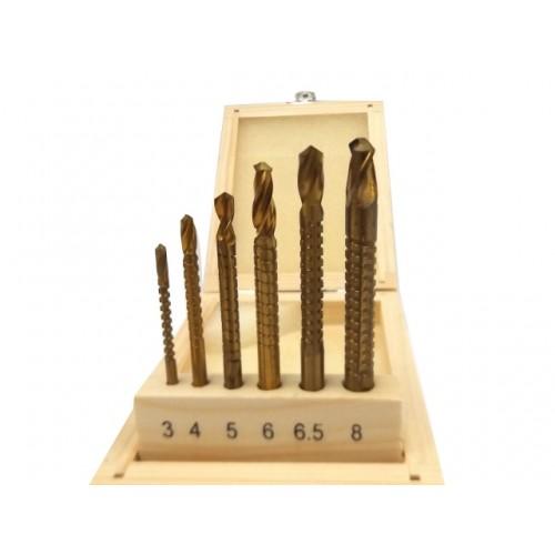 Frēžu komplekts 3-8mm (6 gab.)