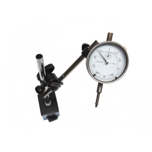 Indikators 0-10x0.01mm un magnētiskais statīvs 60kg
