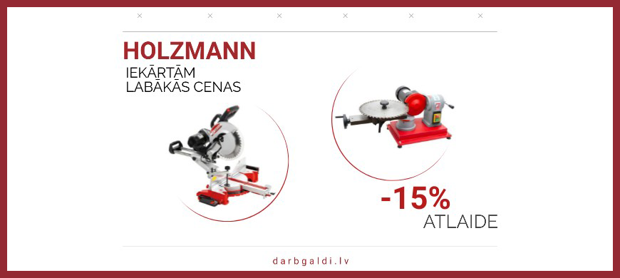 Holzmann 15% atlaide