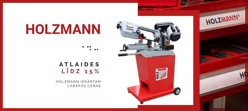 Holzmann līdz -15% lentzāģis